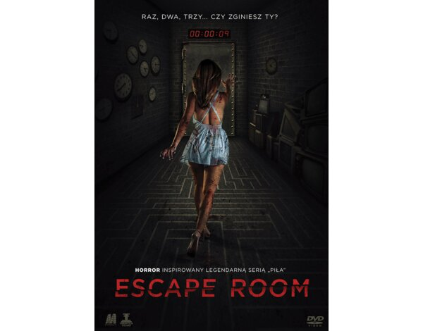 Escape Room (DVD) + Książka