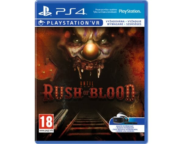 Gra PS4 Until Dawn: Rush of Blood