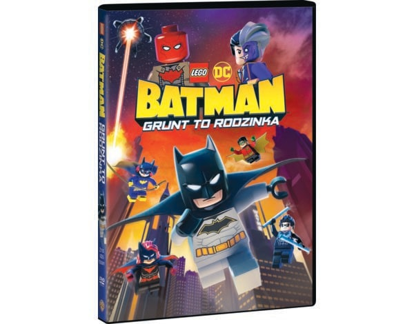LEGO DC: Batman - Grunt to rodzinka (DVD)