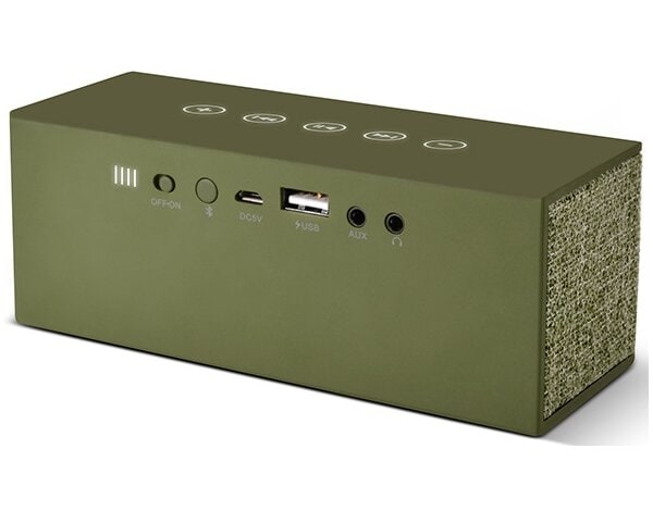 Głośnik Bluetooth FRESH N REBEL Rockbox Brick Fabriq Edition Army