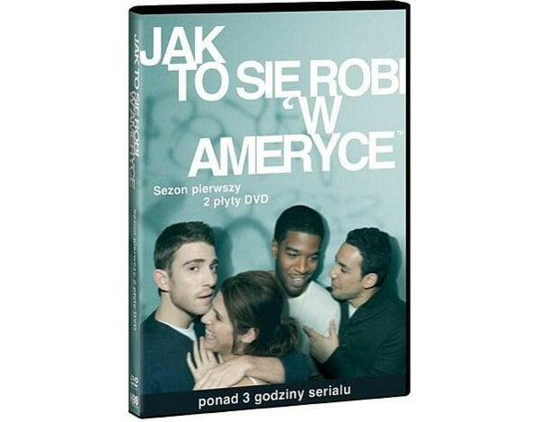 Film GALAPAGOS Jak to się robi w Ameryce. Sezon 1 (2 DVD) How to make it in America