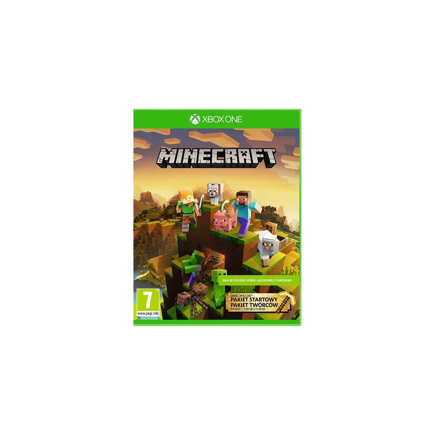 Gra Xbox One Minecraft - Master Collection
