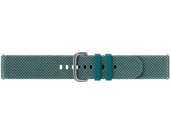 Pasek SAMSUNG Kvadrat Band do Gear Sport/Galaxy Watch (42mm)/Galaxy Watch Active/Galaxy Watch Active2 ZielonyET-SKR82MGEGEU