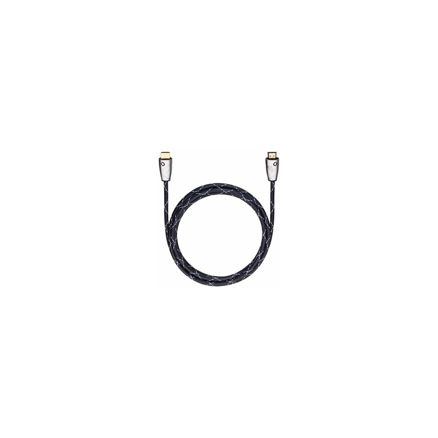Kabel OELBACH HDMI - HDMI Easy Connect Steel 1.5m
