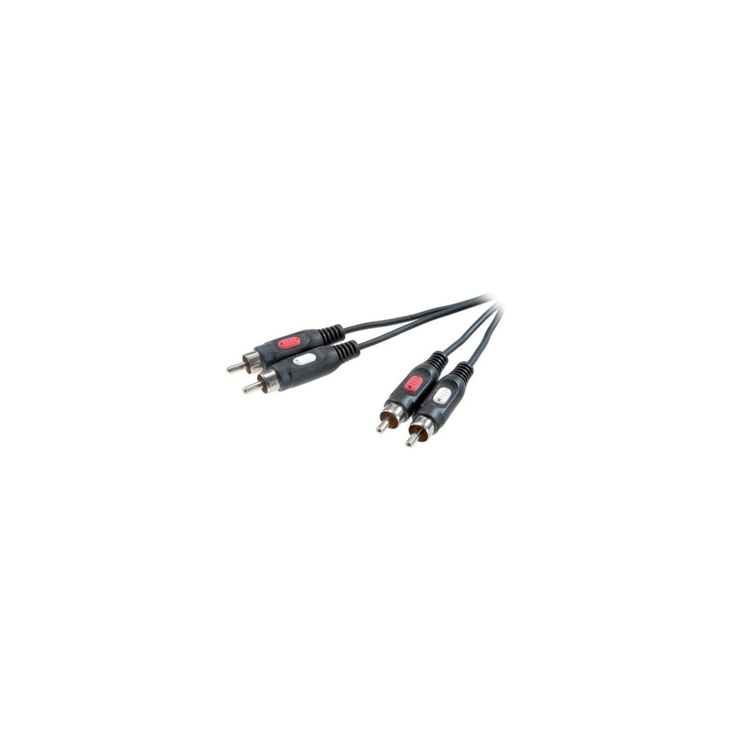 Kabel VIVANCO 2RCA - 2RCA 1.5m