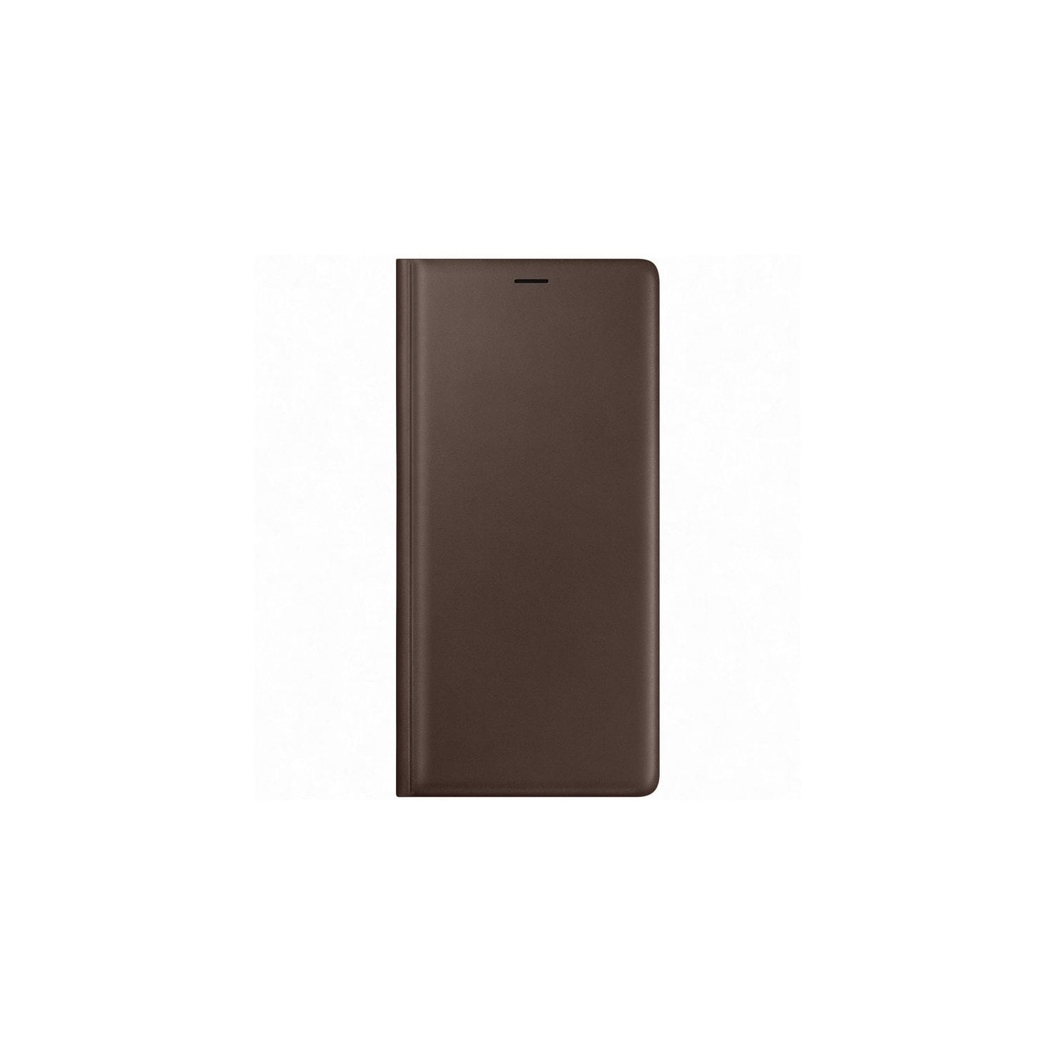 Etui SAMSUNG Leather View Cover do Galaxy Note 9 Brązowy EF-WN960LAEGWW