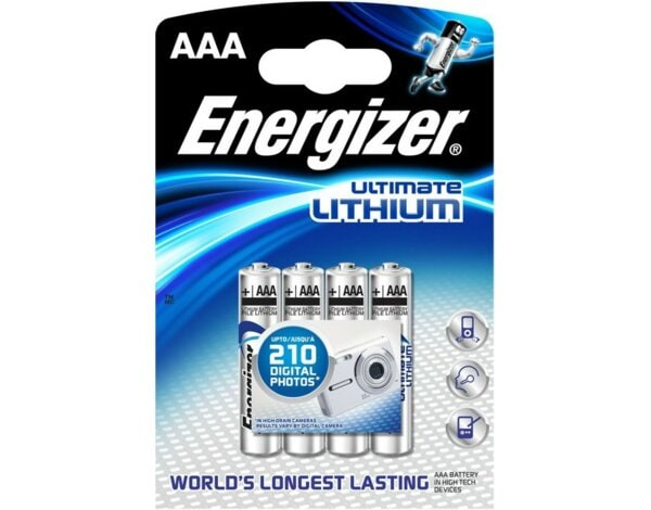 Bateria ENERGIZER Ultimate Lithium L92 AAA LR03/4 szt.