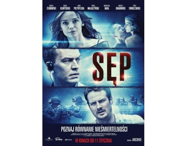 Sęp (booklet Blu-ray)