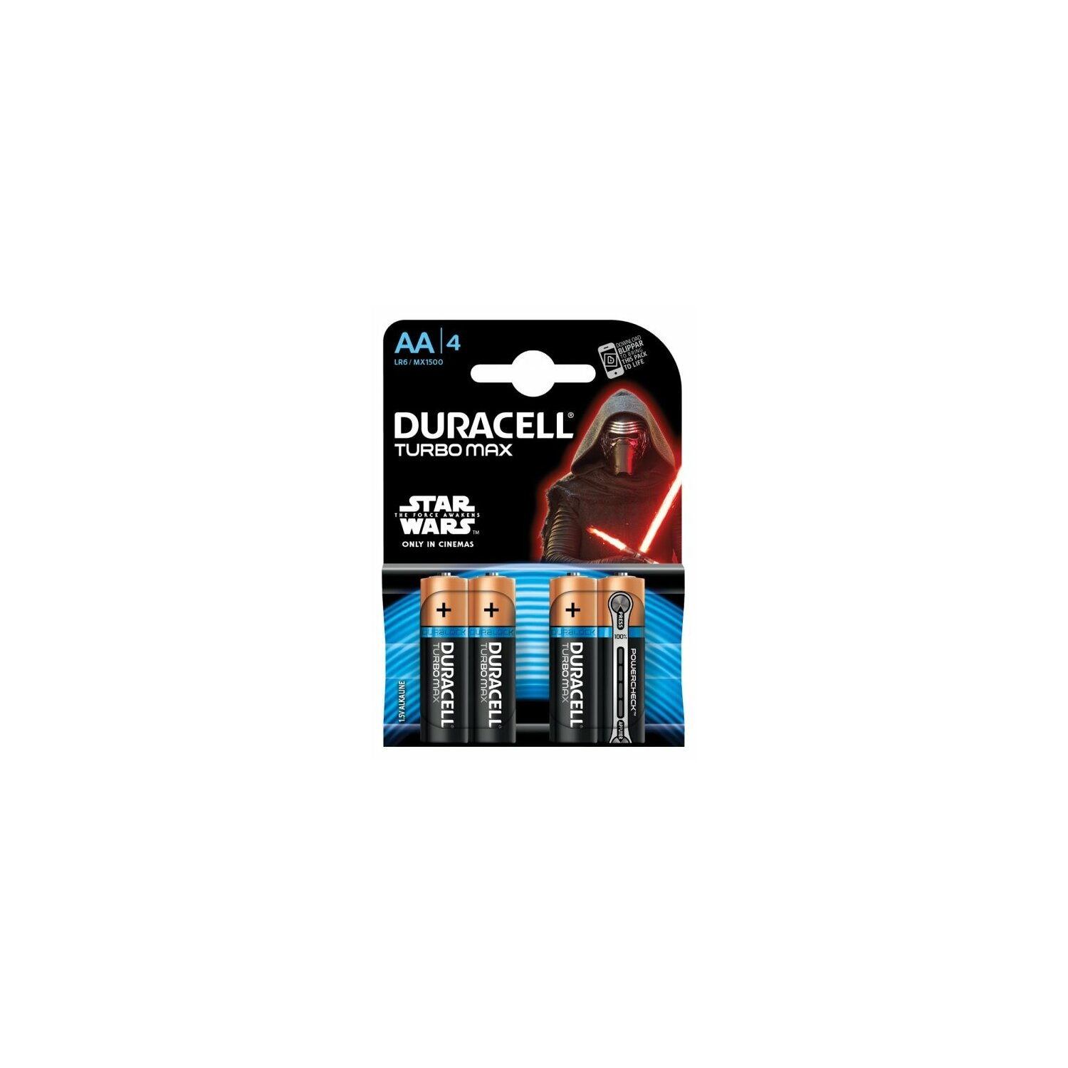 Baterie DURACELL Turbo Max AA 4szt.