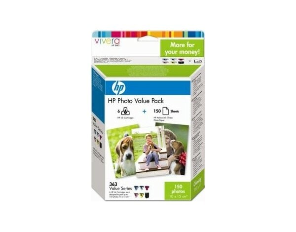 Tusz HP Photo Value Pack 363