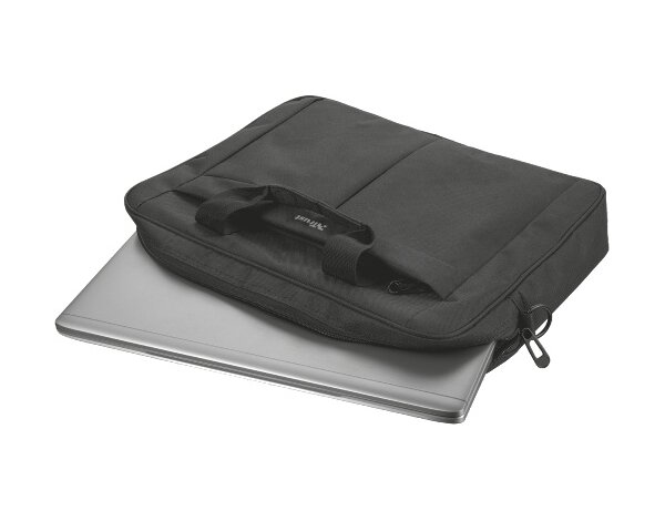 Torba na laptopa TRUST Primo Carry Bag 17.3 cala Czarny