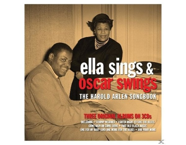 ELLA SINGS & OSCAR SWINGS - HAROLD ARLEN SONGBOOK
