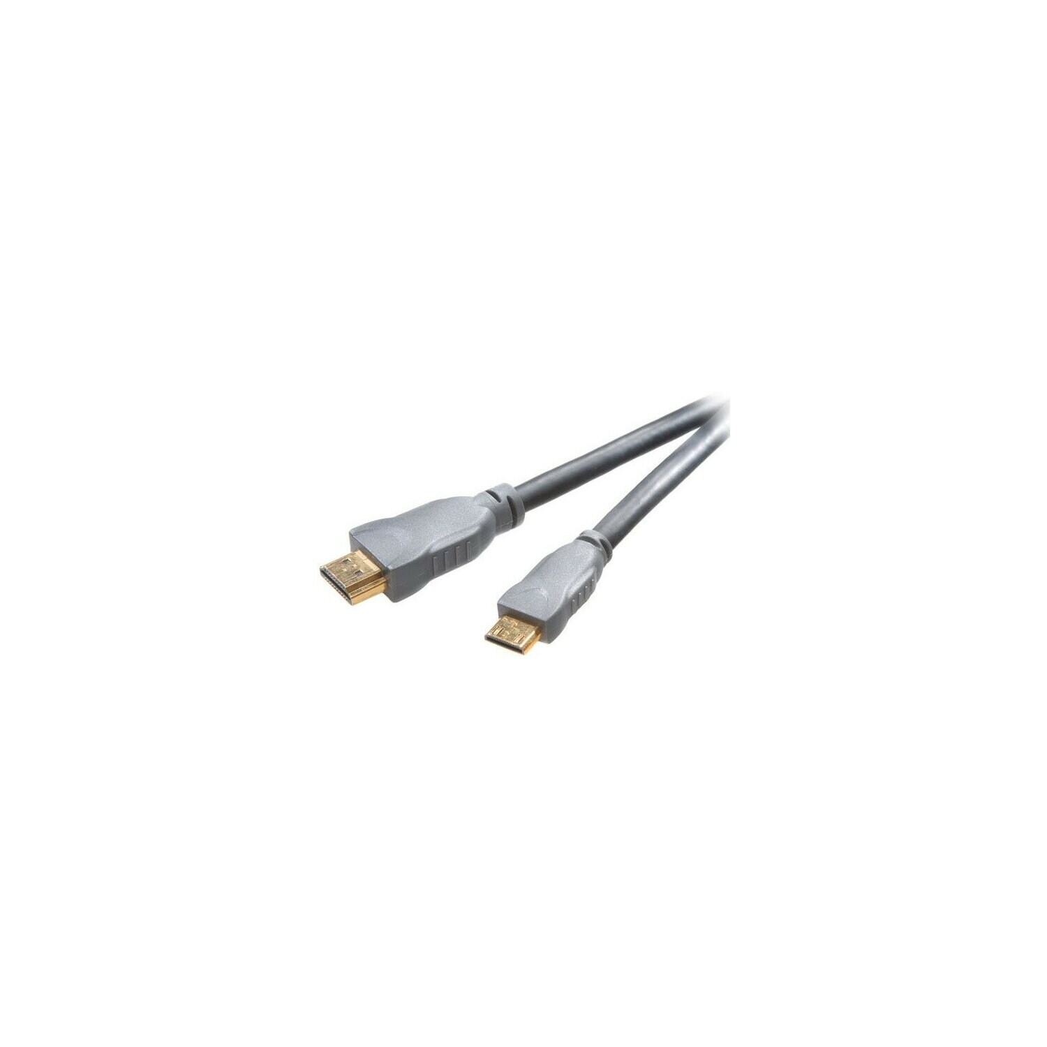 Kabel VIVANCO HDMI - miniHDMI 1.5 m Szary