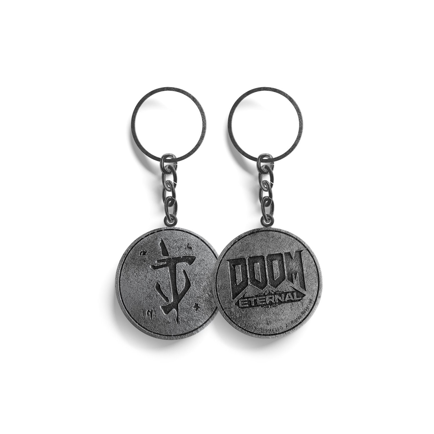 Brelok GOOD LOOT Doom Eternal Keyring