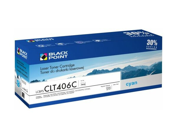 Toner BLACK POINT LCBPSCLT406C