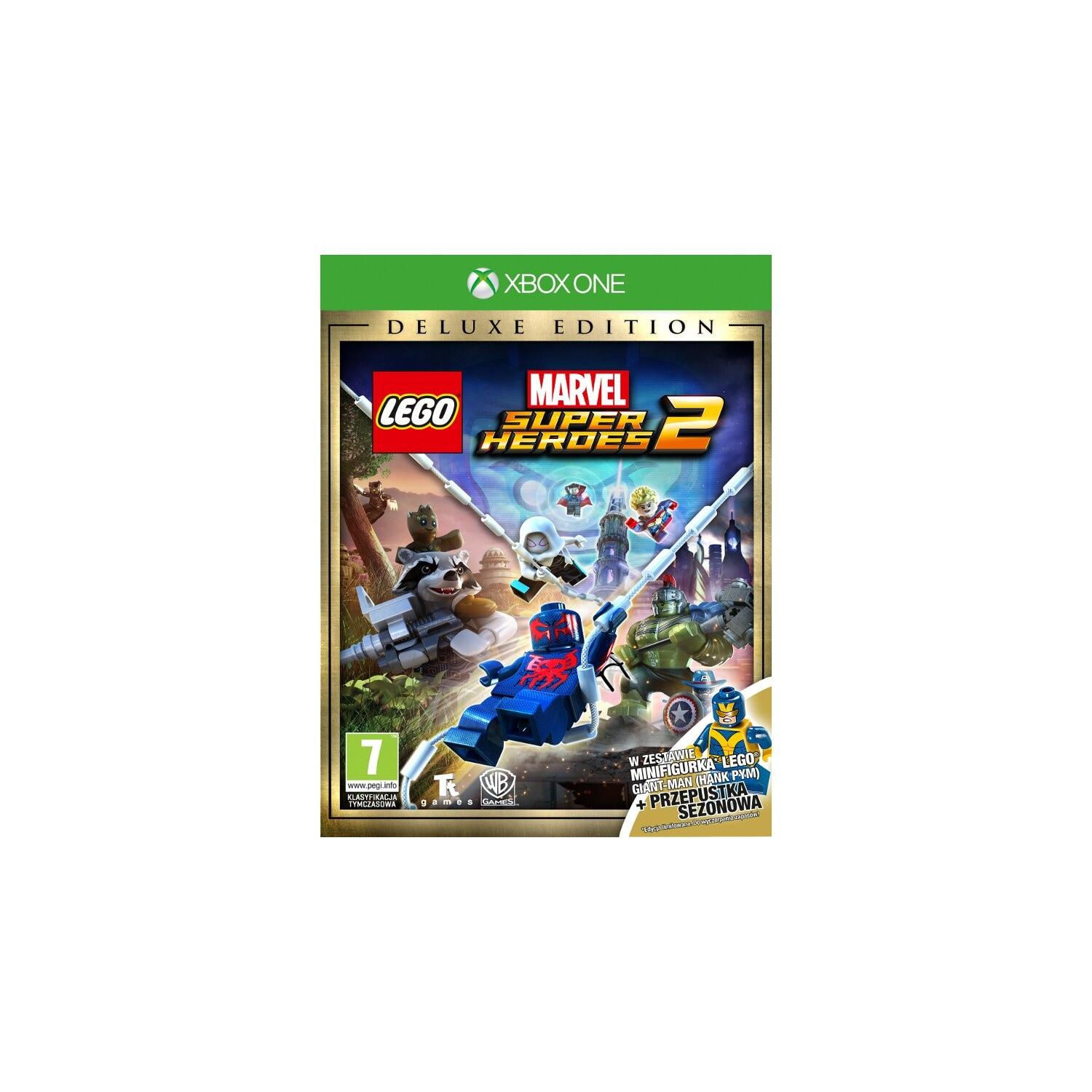Gra Xbox One LEGO Marvel Super Heroes 2 Deluxe Edition