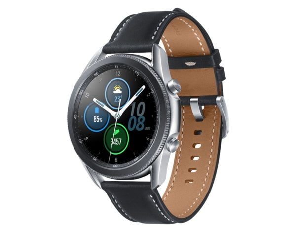 SmartWatch SAMSUNG Galaxy Watch3 45 mm Srebrny SM-R840NZSAEUE