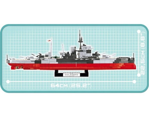Klocki COBI Historical Collection - HMS Warspite (4820)