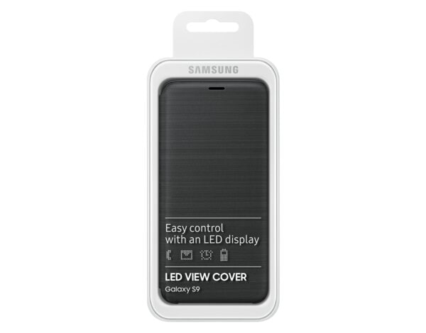 Etui SAMSUNG LED View Cover do Samsung Galaxy S9 Czarny EF-NG960PBEGWW