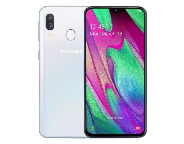 885a4cb91b1534 Smartfon SAMSUNG Galaxy A40 Biały SM-A405FZWDXEO - Smartfony -