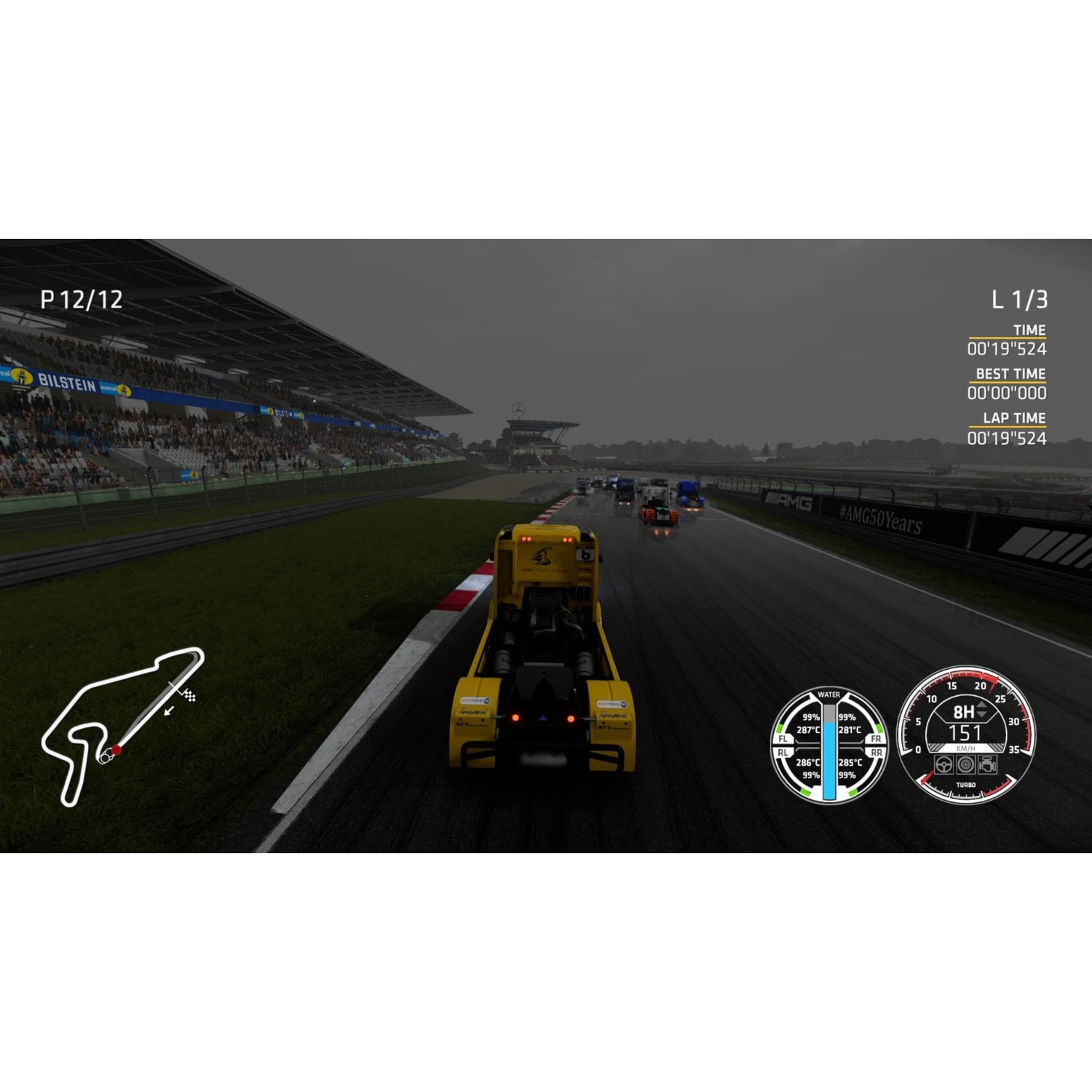 Gra PS4 FIA European Truck Racing Championship