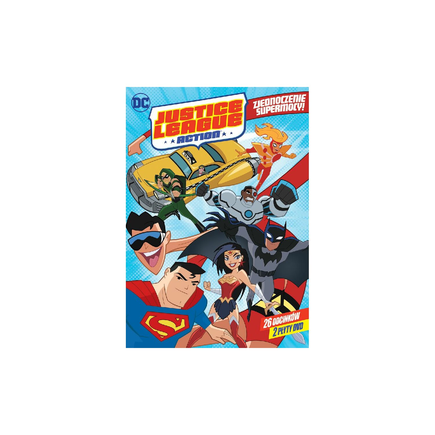 Justice League: Action. Sezon 1, Część 1 (2DVD)