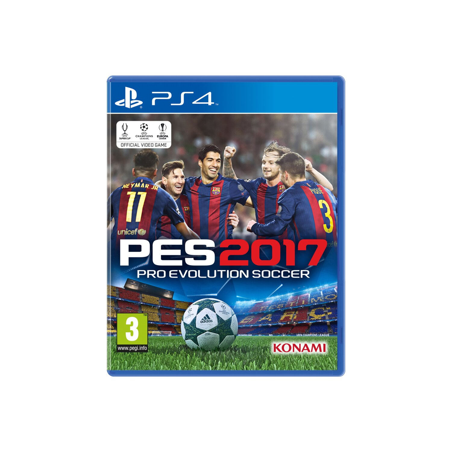 Gra PS4 Pro Evolution Soccer 2017