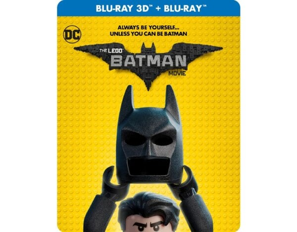 LEGO Batman: Film 3D. Steelbook (2BD)