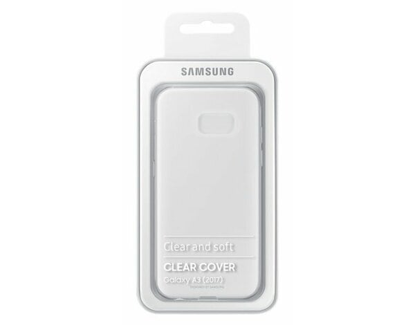 Etui SAMSUNG Clear Cover do Galaxy A3 (2017)
