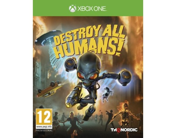 Gra Xbox One Destroy All Humans! Crypto-137 Edition