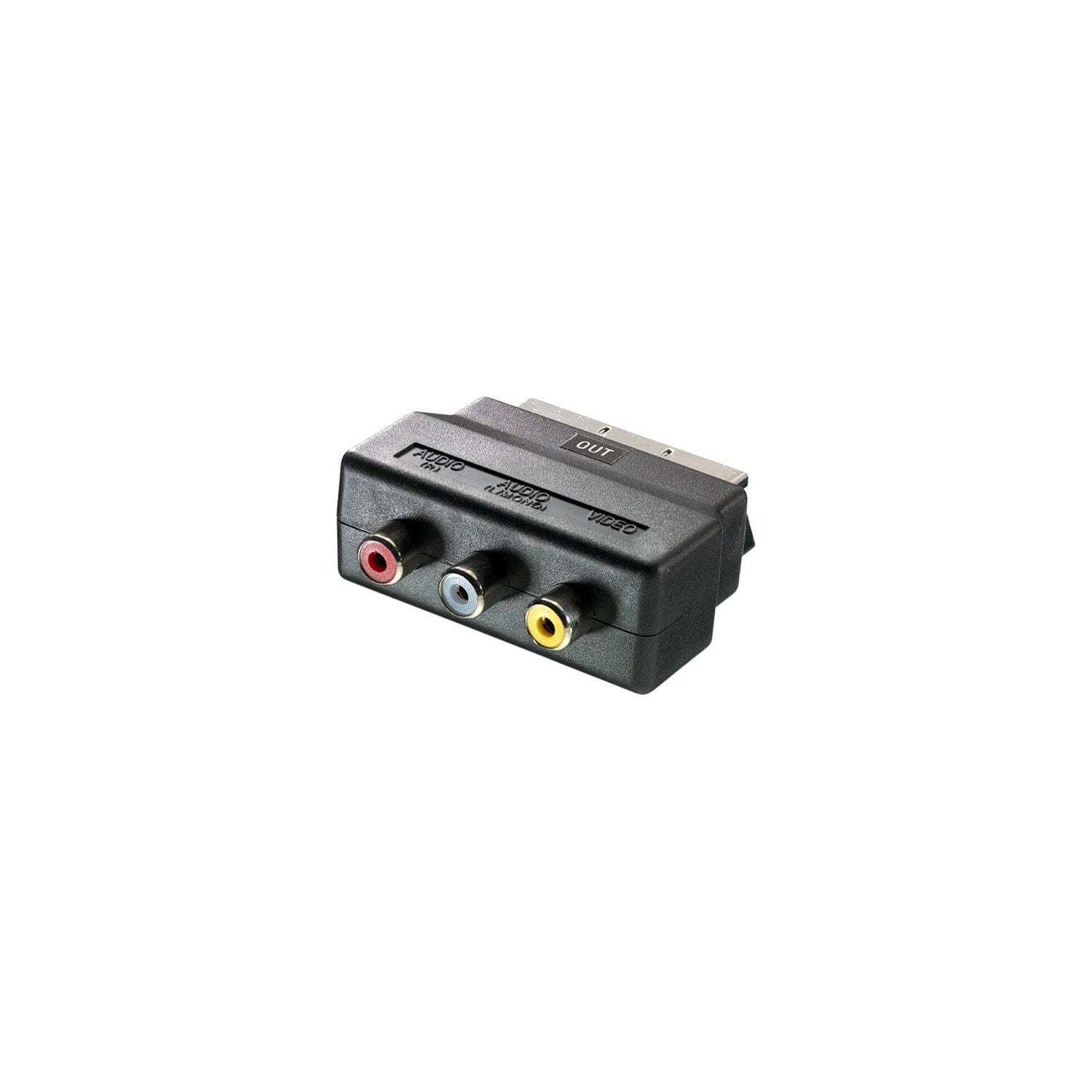 Adapter VIVANCO 3xRCA - Scart