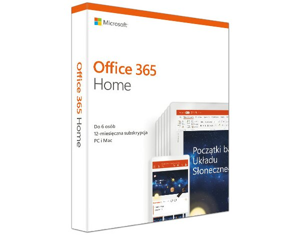 Program Microsoft Office 365 Home PL Win/Mac