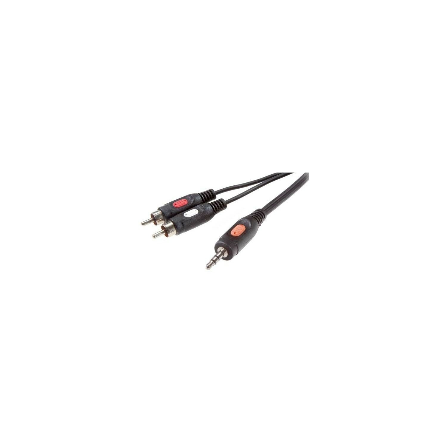 Kabel VIVANCO Jack 3.5 mm WT- 2x RCA WT 1.5m