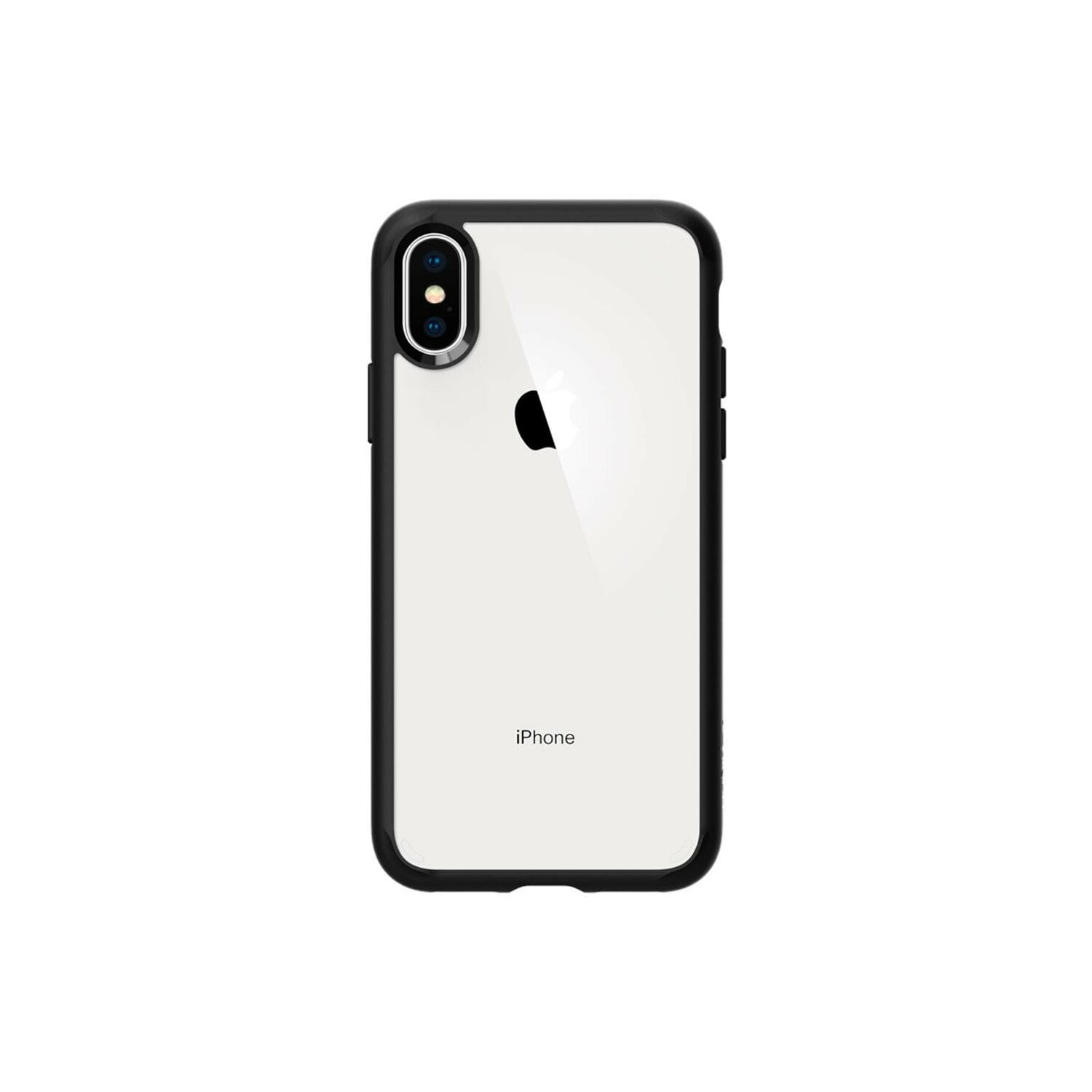 Etui SPIGEN Ultra Hybrid do Apple iPhone XS Czarny matowy
