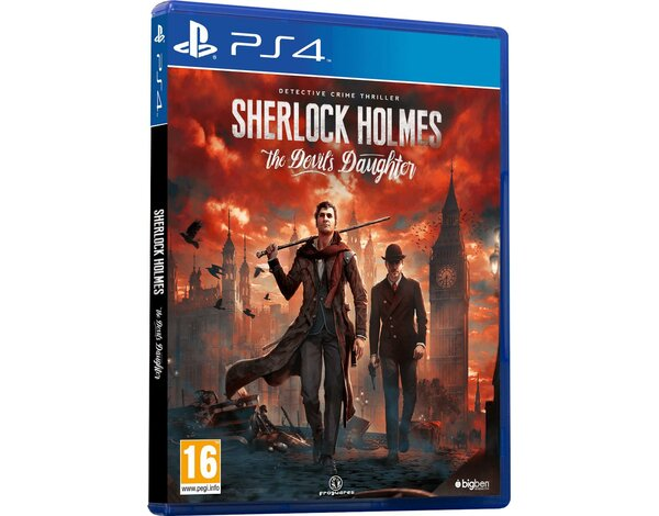 Gra PS4 Sherlock Holmes The Devil's Daughter