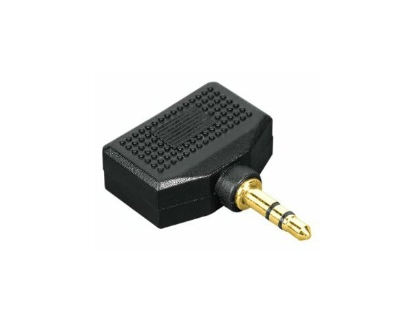 Adapter HAMA jack 3.5mm - 2x jack 3.5mm