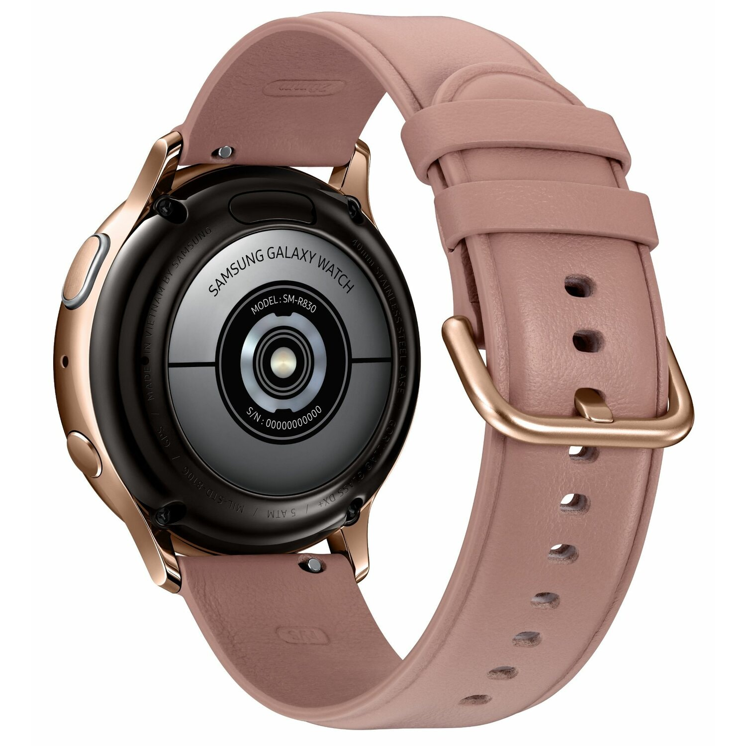 SmartWatch SAMSUNG Galaxy Watch Active2 LTE Stal Nierdzewna 40mm Złoty SM-R835FSDAXEO