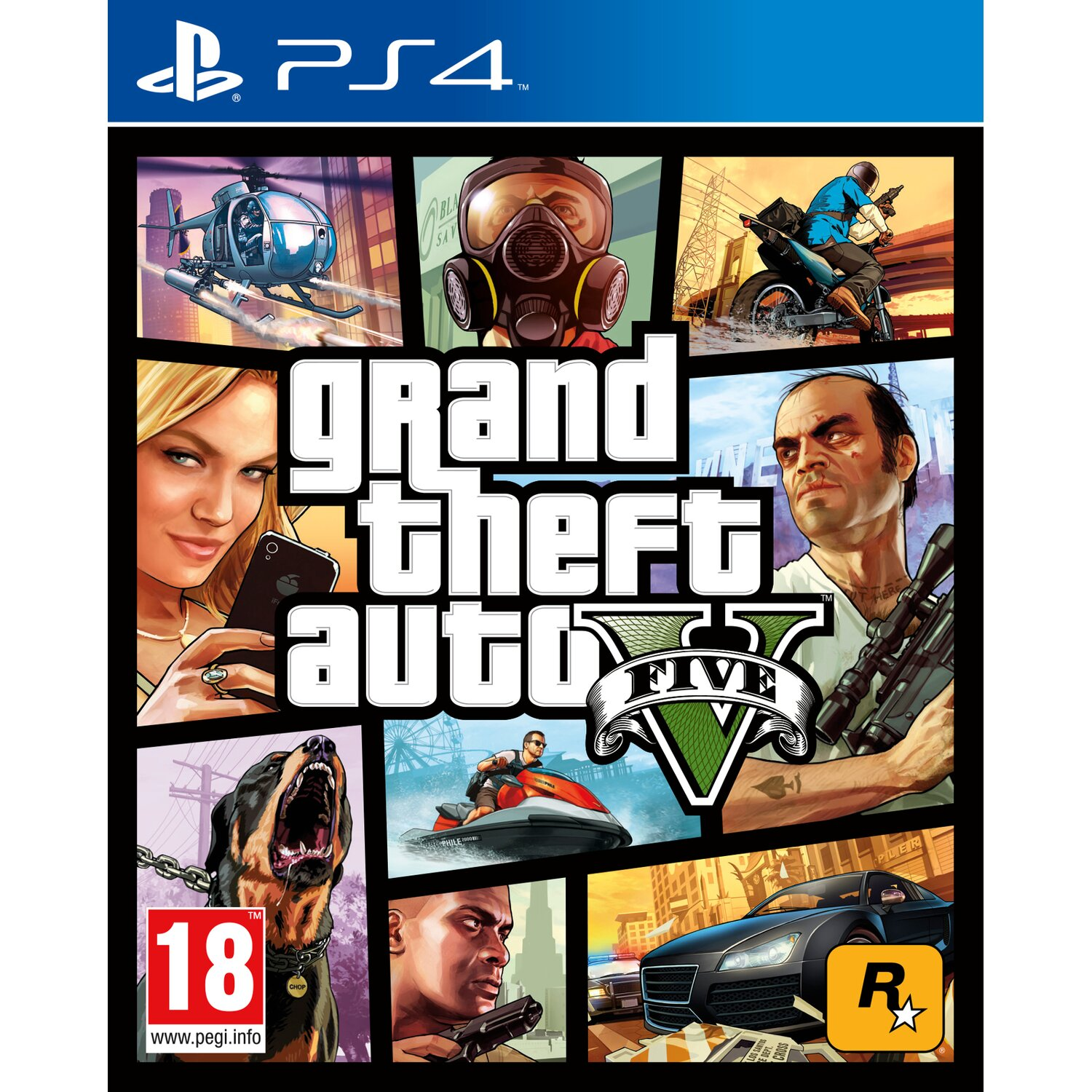 Gra PS4 Grand Theft Auto V