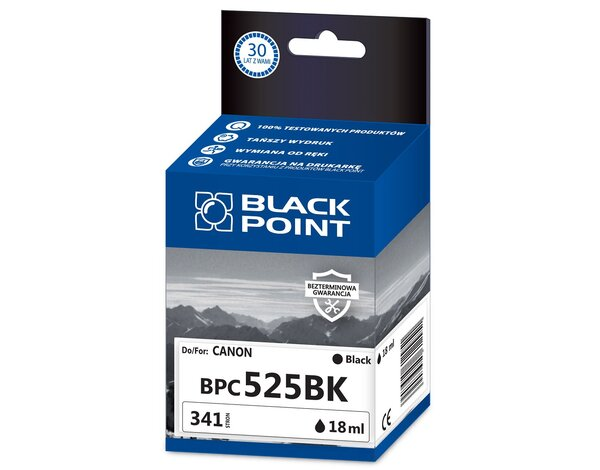 Tusz BLACK POINT BPC525Bk Zamiennik Canon PGI525