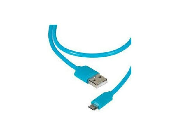Kabel micro USB VIVANCO 1.2m Niebieski