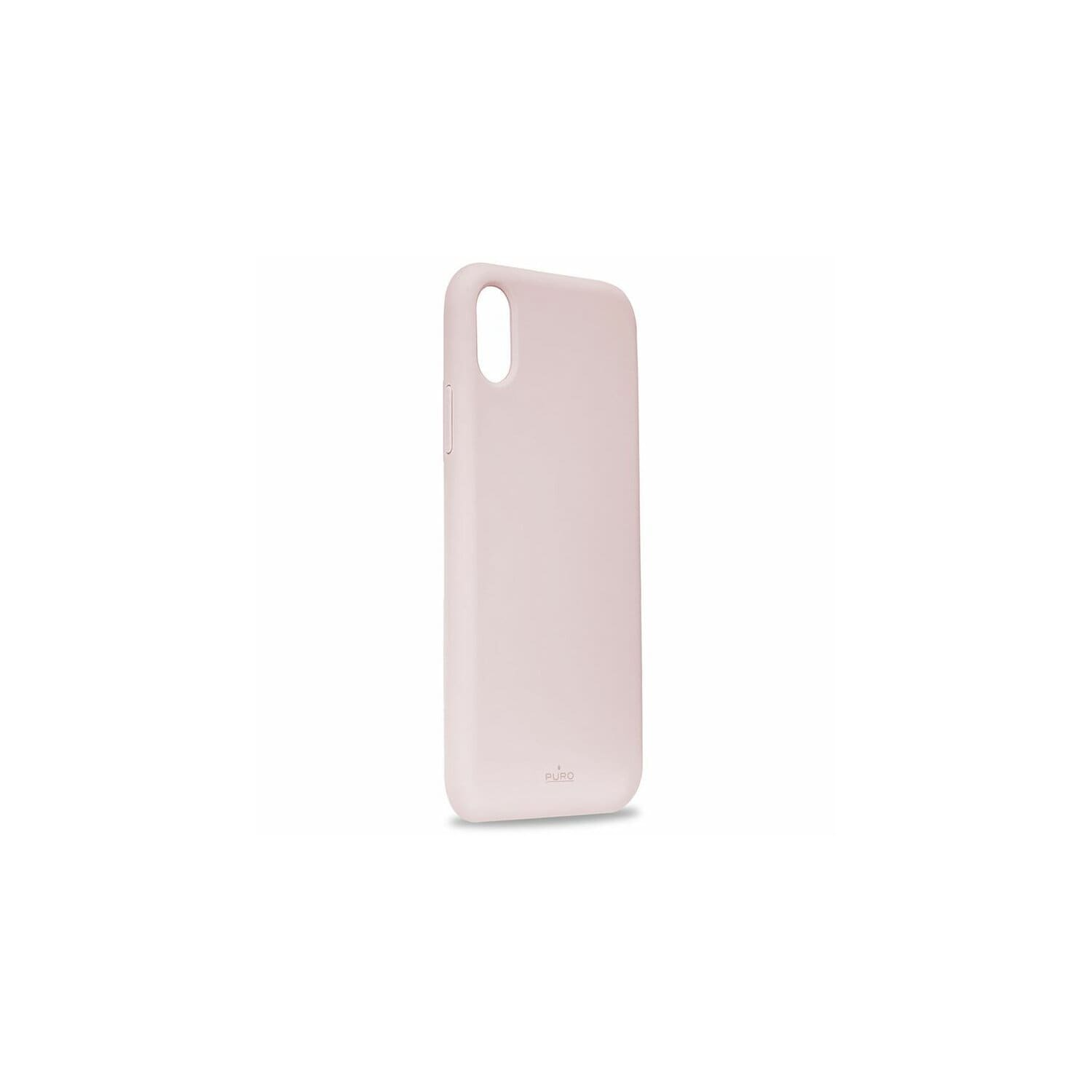 Etui PURO Icon Cover Apple iPhone XR różowy