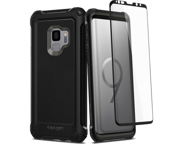 Etui SPIGEN Pro Guard do Samsung Galaxy S9 Czarny