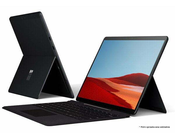Laptop/Tablet 2w1 MICROSOFT Surface Pro X SQ1/8GB/128GB SSD/INT/Win10H Czarny + klawiatura Surface Pro X Keyboard Czarny