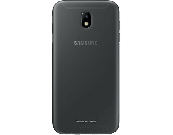 Etui SAMSUNG Jelly Cover do Samsung Galaxy J7 (2017) Czarny EF-AJ730TBEGWW