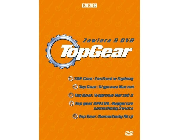 Box: Top Gear. Część II (5DVD)