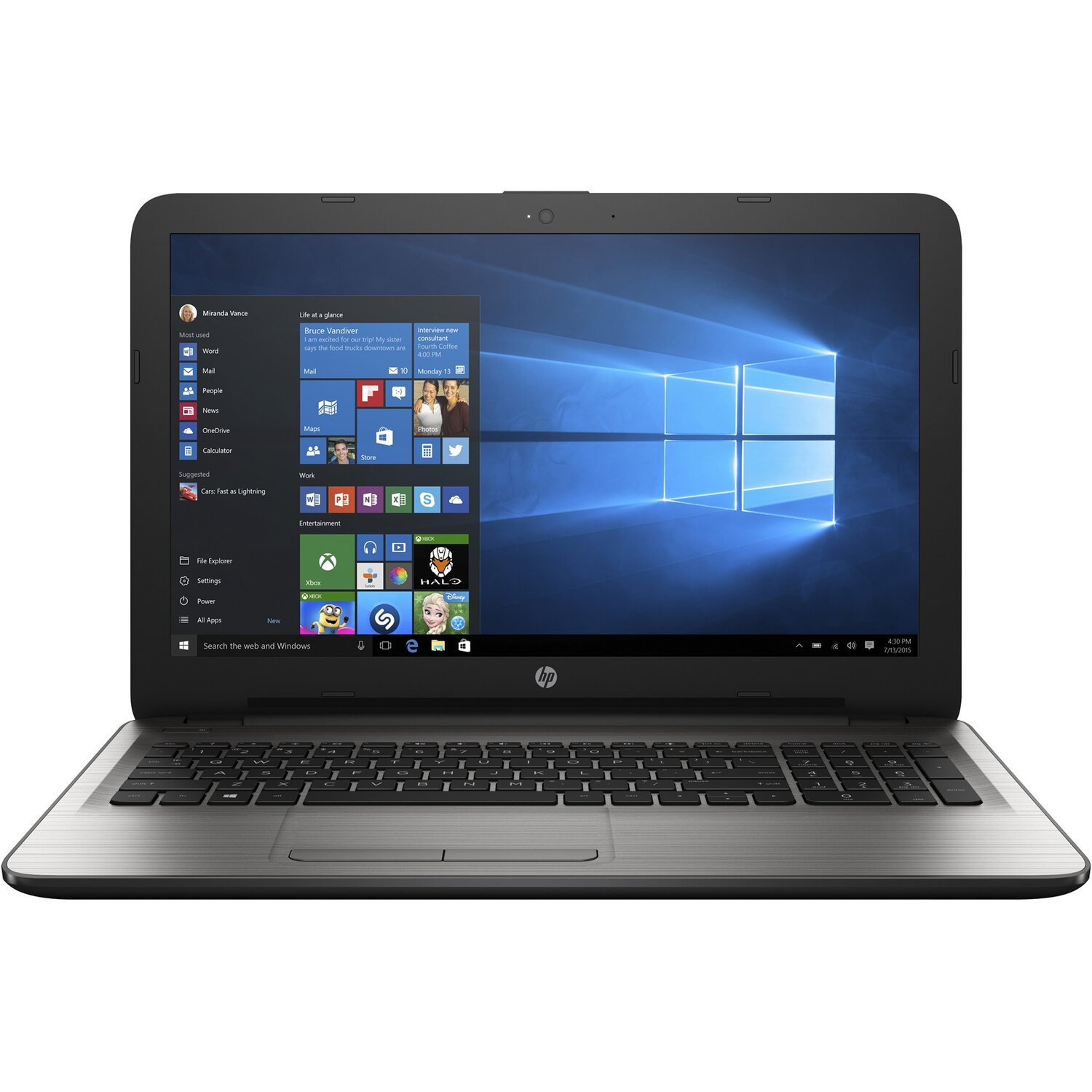 Laptop HP 15-ay157nw