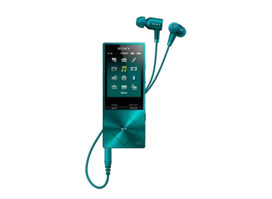 Odtwarzacz Mp4 Sony Nw A25hnl Niebieski Odtwarzacze Mp4
